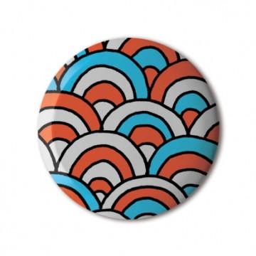 Gift Box: 3 button badges (Doodle Mix)