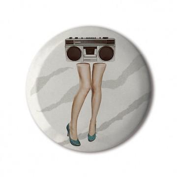 Gift Box: 3 button badges (Blaster)