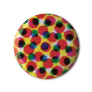 Gift Box: 3 button badges (Dots)