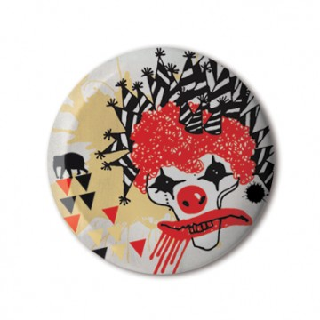 Gift Box: 4 button badges (Circus)