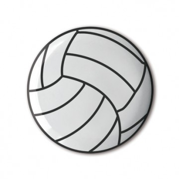 Gift Box: 3 button badges (Ball Sports)
