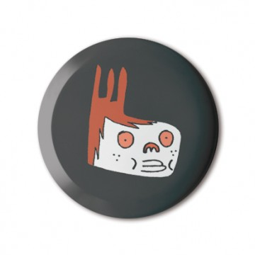Gift Box: 4 button badges (Food Monsters)