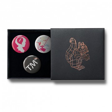 Gift Box: 3 button badges (Spark TM)