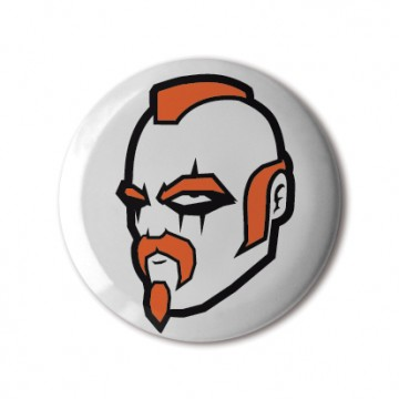 Gift Box: 4 button badges (Graffiti)