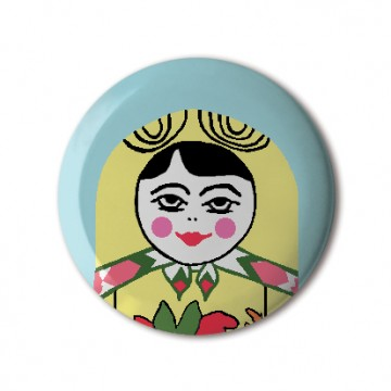 Gift Box: 4 button badges (Russian Doll)