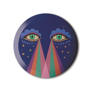 Rainbow Eyes print