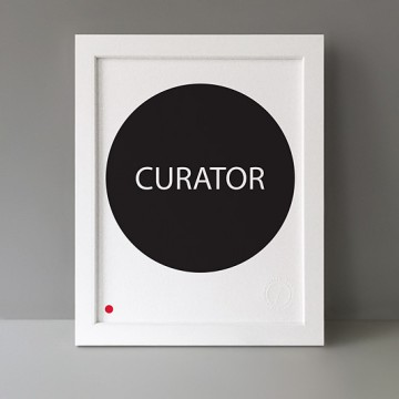 Sold Curator print