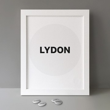 Lydon print