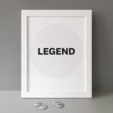 Legend print
