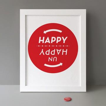 (Un)Happy print