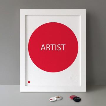 Sold Artist print