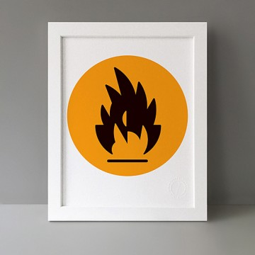 Flame print