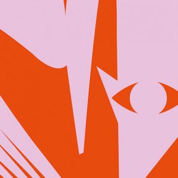 Fox Silhouette print