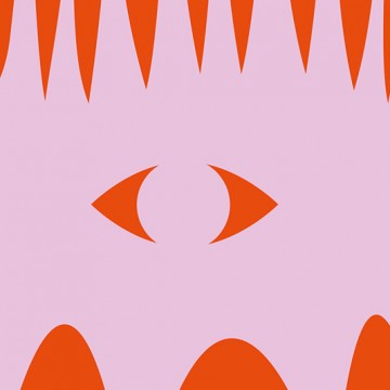 Hedgehog Silhouette print