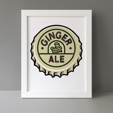 Ginger Ale print