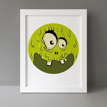 Green Monster print