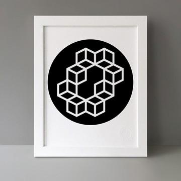 Modulo: 8x Circle print