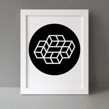 Modulo: 4x2 Circle print