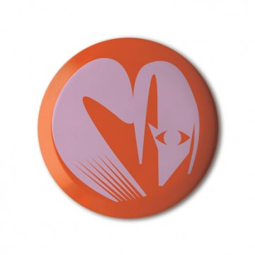 Gift Box: 4 button badges (Animal Silhouettes)