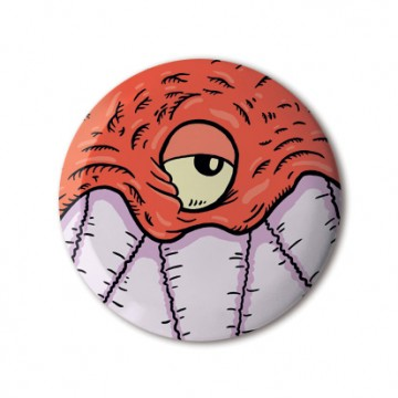 Gift Box: 4 button badges (Monsters)