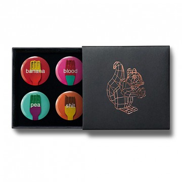 Gift Box: 4 button badges (F***s)