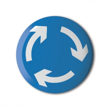 Gift Box: 4 button badges (Arrows)