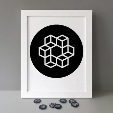 Modulo: 6x Circle print
