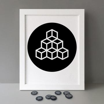 Modulo: 6x Triangle print