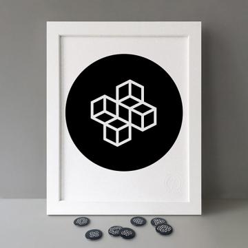 Modulo: 4x Circle print