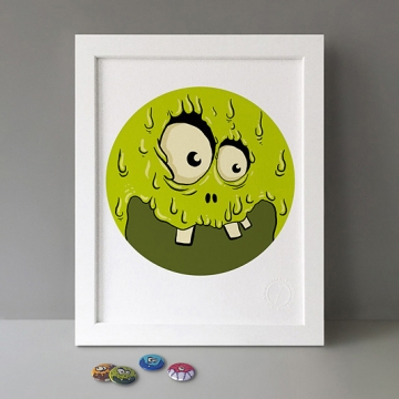 Green Monster print