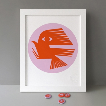 Bird Silhouette print