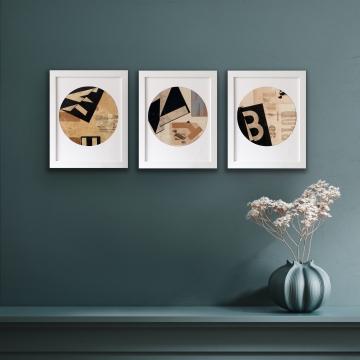 Collage M print
