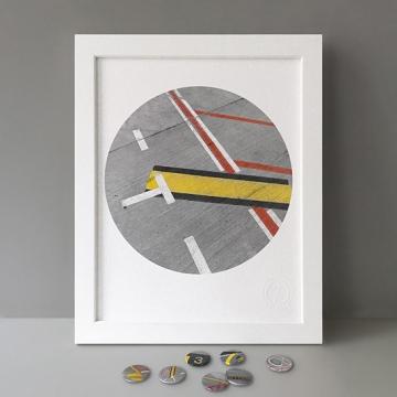 Air Lines: T print
