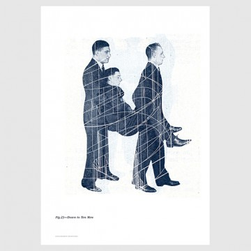 10x10 Series Poster: Down to Ten Men (Giclée)