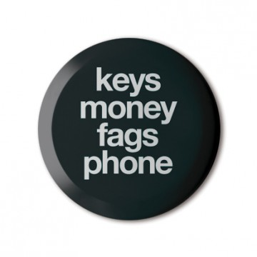 Keys Money Fags Phone