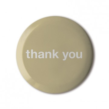 Thank You (Beige)