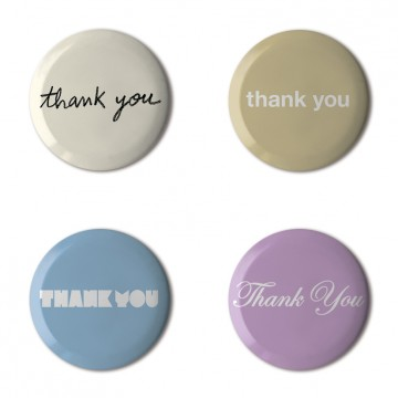 Thank You, Set of 4