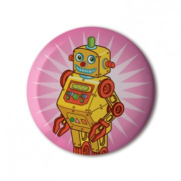 Robot on Pink