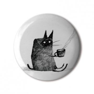 Tea-Drinking Cat