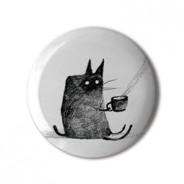 Tea-Drinking Cat