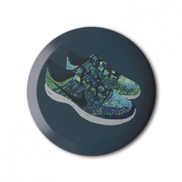 Blue & Green Flyknit