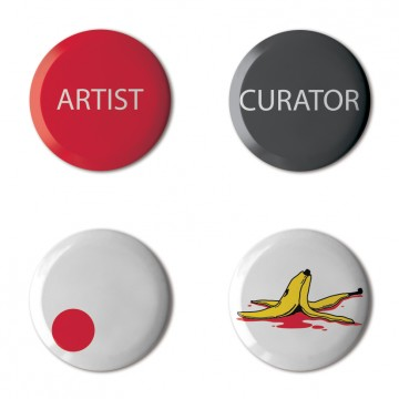 Gift Box: 4 button badges (The Gallery)