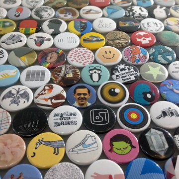 Button Badge Artwork