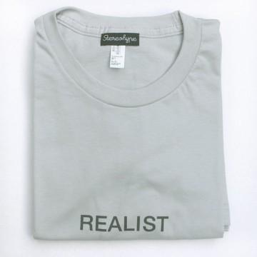 Realist (unisex) T-shirt + badge