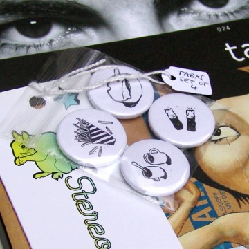 Tabas book / badge set bundle