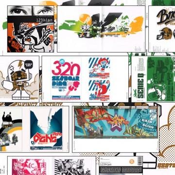 Design & Designer 020 v.2: 123klan + 1 badge