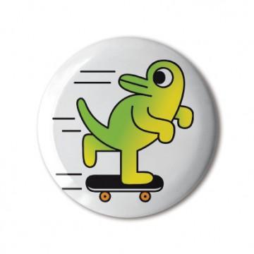 Skateboarding Dinosaur