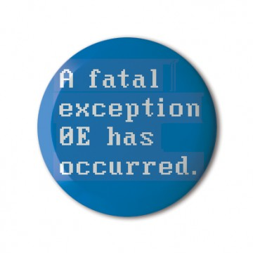 System Error, Fatal Exception print