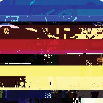 System Error, Stripy Glitch print