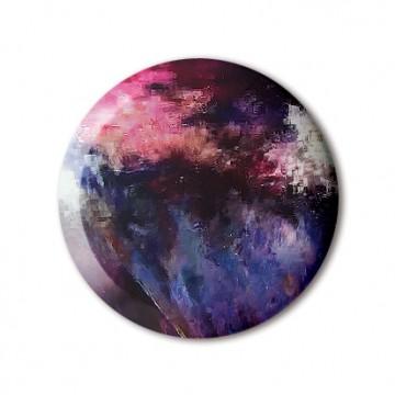 Glitch 1 (Black, Purple, Pink) print